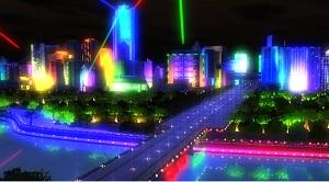 3D城市灯光秀
