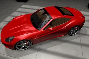 3D高清车辆换颜色