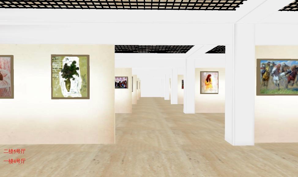 3D虚拟美术馆