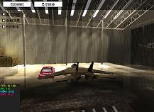 3D汽车飞机库房