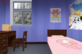 3D室内卧室